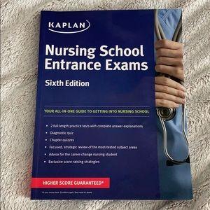 Kaplan Nursing School Entrance Exams book
